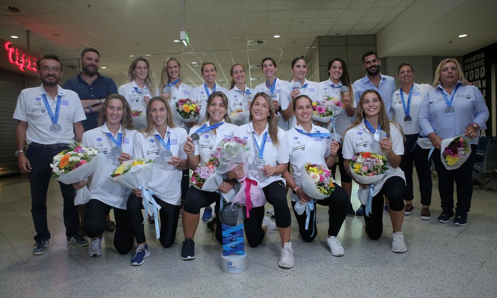 Ελλάδα: Επέστρεψαν οι «ασημένιες» Πρωταθλήτριες του πόλο (photos)
