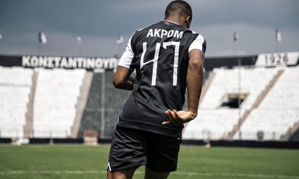 Ακπόμ: «Απόλαυσα την πρώτη μου προπόνηση με τον ΠΑΟΚ» (video)
