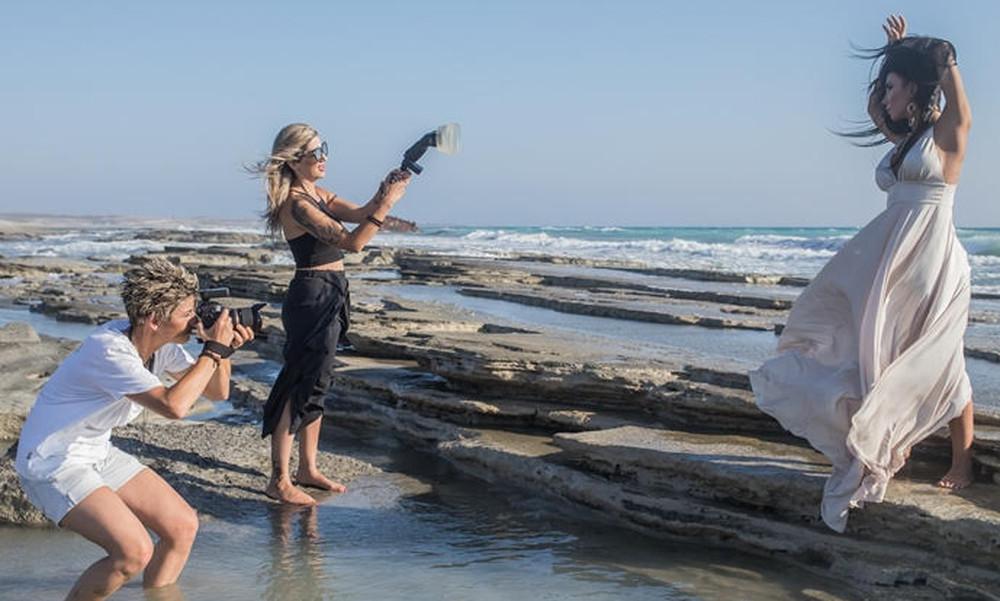 Η Κατερίνα Νάκα σε ρόλο μοντέλου (photos)