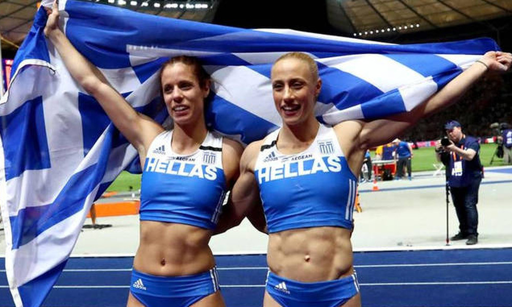 Στεφανίδη και Κυριακοπούλου κατέκτησαν την Ευρώπη με μυθικό 1-2! (videos)