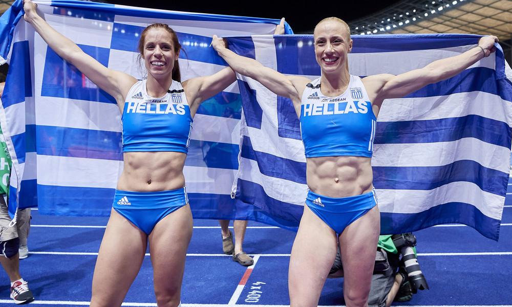 Έκαναν την Ευρώπη να παραμιλά οι Πρωταθλήτριες Κατερίνα Στεφανίδη και Νικόλ Κυριακοπούλου (pics+vds)