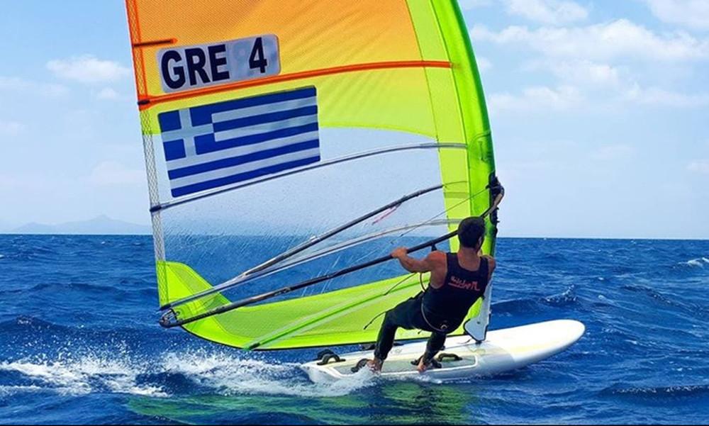 Πρόκριση για την Ελλάδα στους Ολυμπιακούς Αγώνες και στα RSX ανδρών