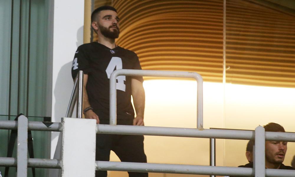 ΠΑΟΚ: Ο Γιώργος Σαββίδης καλωσόρισε τον Καρέλη! (photo)