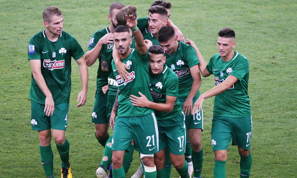 Παναθηναϊκός-Λαμία 3-1: Τα γκολ του αγώνα (videos)