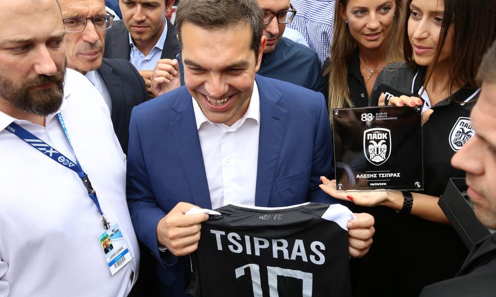 Τσίπρας: «Ο ΠΑΟΚ θα αποκτήσει το γήπεδο που του αξίζει»