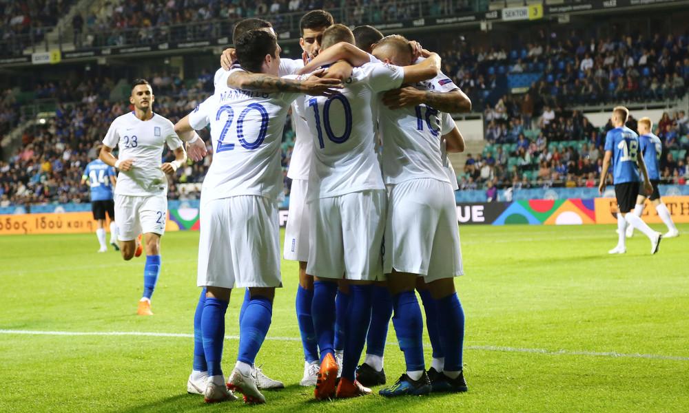 Εσθονία-Ελλάδα 0-1: Πρεμιέρα με το δεξί!