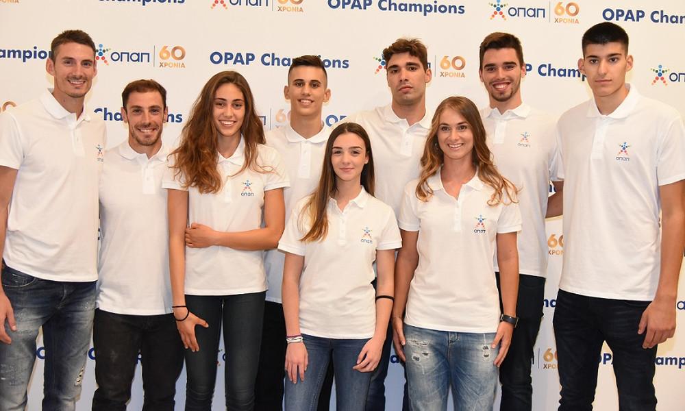 Ο ΟΠΑΠ στο πλευρό της νέας γενιάς αθλητών με το πρόγραμμα «ΟΠΑΠ Champions» (photos+video)