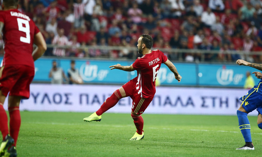 Ολυμπιακός - Αστέρας Τρίπολης 2-1