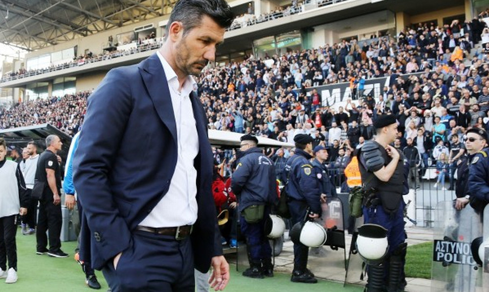 Ουζουνίδης: «Μας έλειψε μόνο το γκολ, μας τιμώρησε ο ΠΑΟΚ»