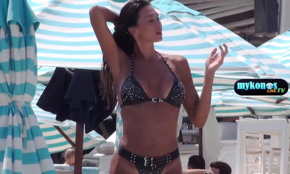 Αυτή είναι η Miss Τούμπανο 2018 που κόλασε τη Μύκονο (video)