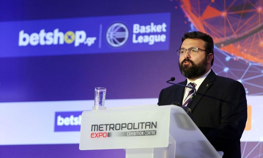 Βασιλειάδης: «Φέτος περισσότερες επιτυχίες το ελληνικό μπάσκετ»