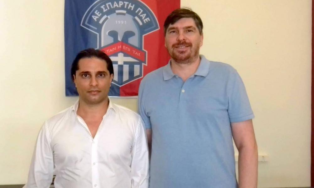 Πρώην παίκτης του ΠΑΟΚ, προπονητής στην Σπάρτη