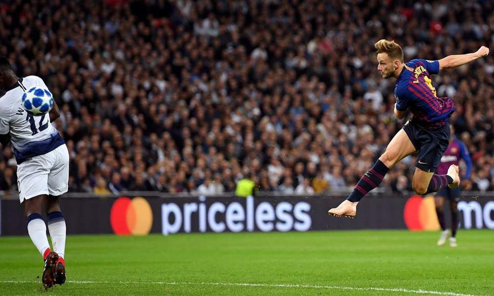 Champions League: Γκολ της αγωνιστικής του Ράκιτιτς (video)