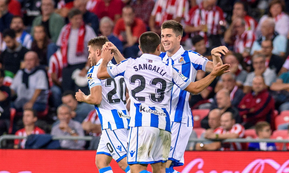 Ισπανία: Η Σοσιεδάδ επιβλήθηκε 3-1 της Αθλέτικ Μπιλμπάο
