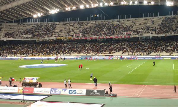 ΑΕΚ-Ολυμπιακός: Χαμός με Λάζαρο και «γιούχα» στο ΟΑΚΑ! (video)