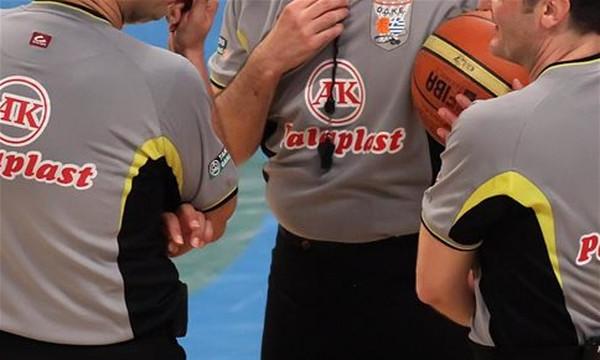 Οι διαιτητές της 2ης αγωνιστικής της Betshop.gr Basket League