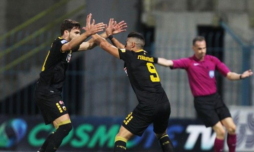 ΑΕΚ-Λαμία 2-1: Έκανε την ανατροπή και μπήκε με το «δεξί» στο Κύπελλο