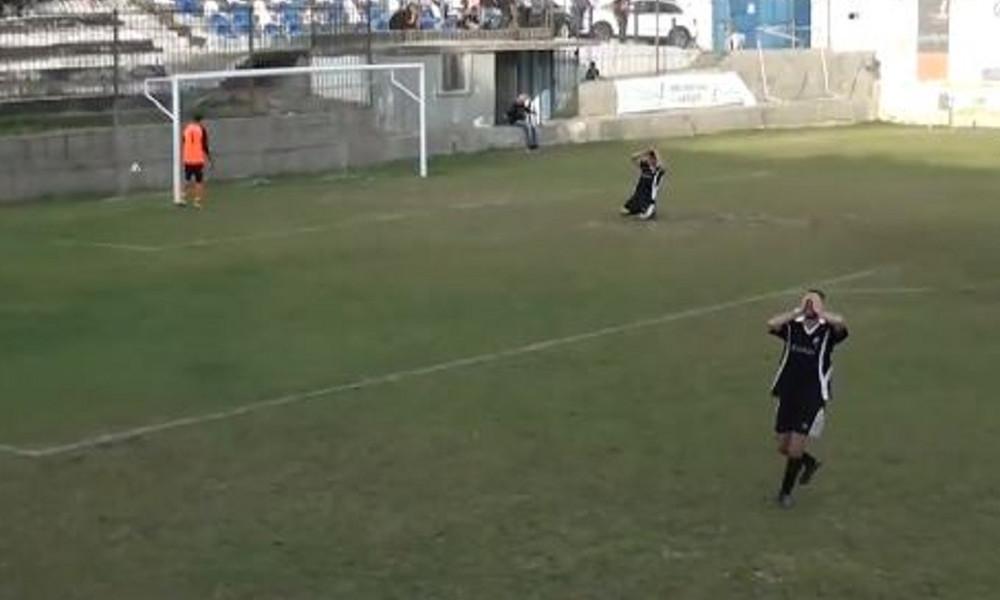 Από το ένα τέρμα στο άλλο: Το γκολ της χρονιάς μπήκε στο τοπικό Θεσσαλονίκης! (video)