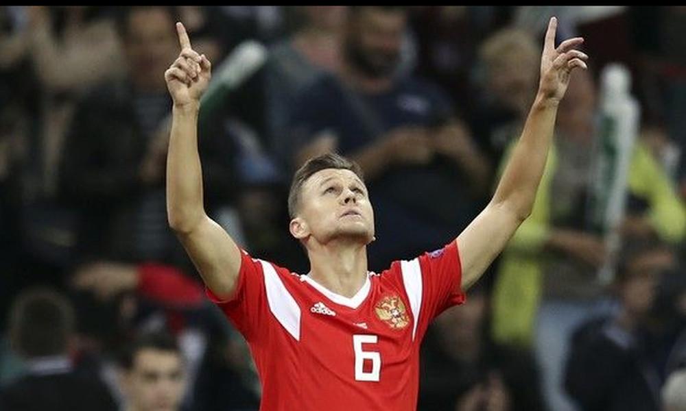 Nations League: Μια ανάσα από την πρώτη θέση η Ρωσία (video)