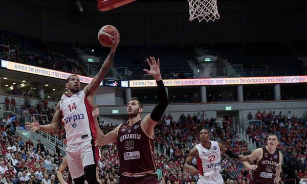 Basketball Champions League: Φελντέιν και Αμάρε υπέγραψαν το 2-0 της Χάποελ!