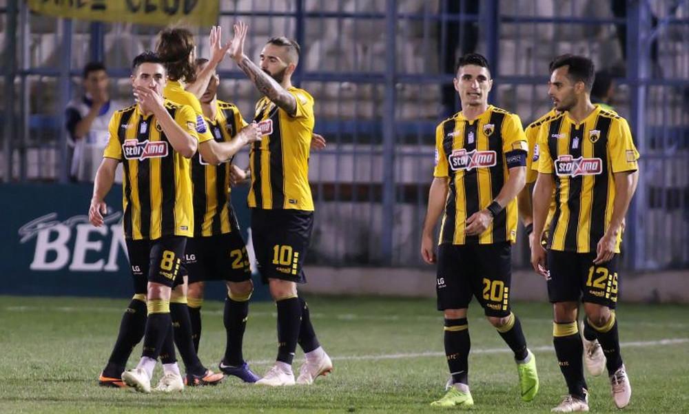 Απόλλων Σμύρνης – ΑΕΚ 0-2: Τα γκολ του αγώνα (videos)