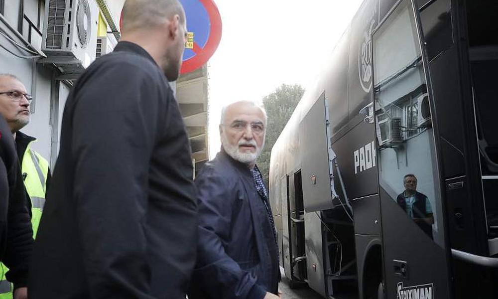 Άρης-ΠΑΟΚ: Στο «Βικελίδης» ο Ιβάν Σαββίδης! (photos)