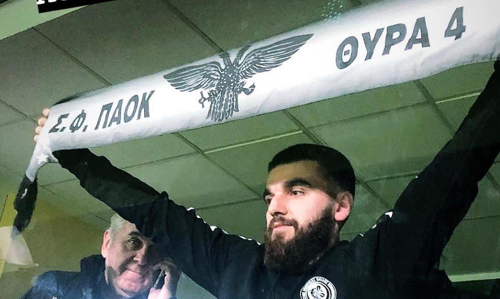 Με κασκόλ του ΠΑΟΚ στο «Βικελίδης» ο Γιώργος Σαββίδης! (photos)