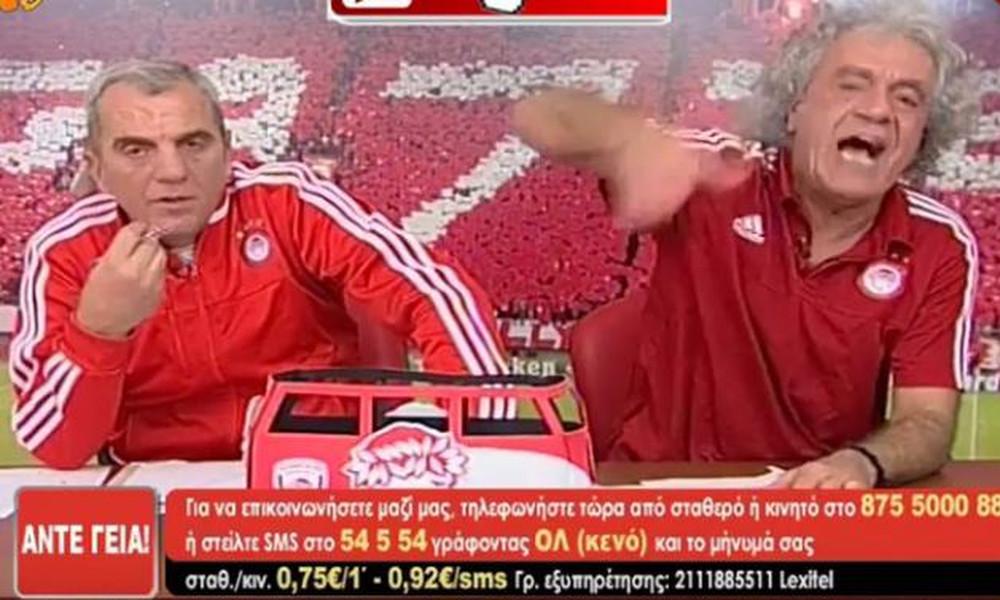 Άπειρο γέλιο: Τσουκαλάς τσακώνεται με τον Άκη και αποχωρεί από την εκπομπή! (vid)