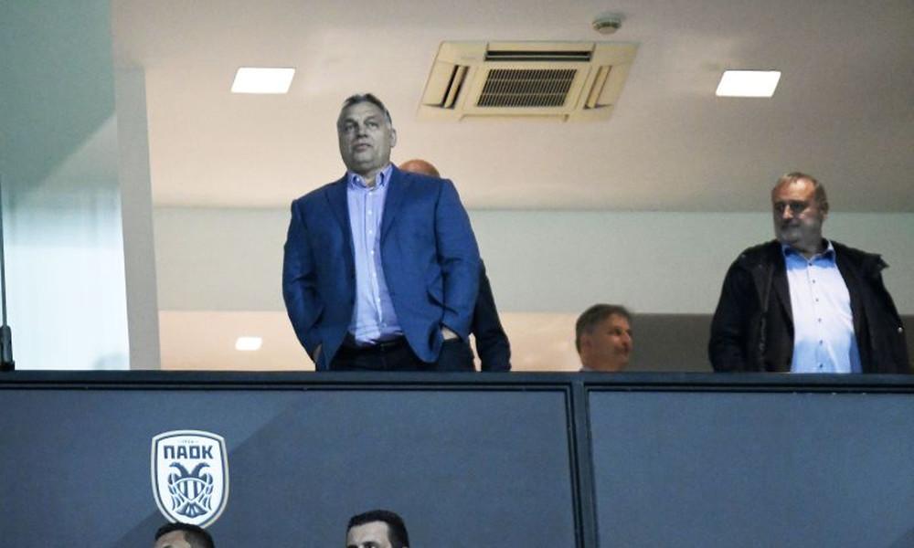 ΠΑΟΚ – Βίντι: Στην Τούμπα ο πρωθυπουργός της Ουγγαρίας (photos)