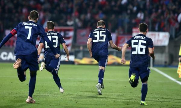 Ντουντελάνζ – Ολυμπιακός 0-2: Τα γκολ του αγώνα (videos)