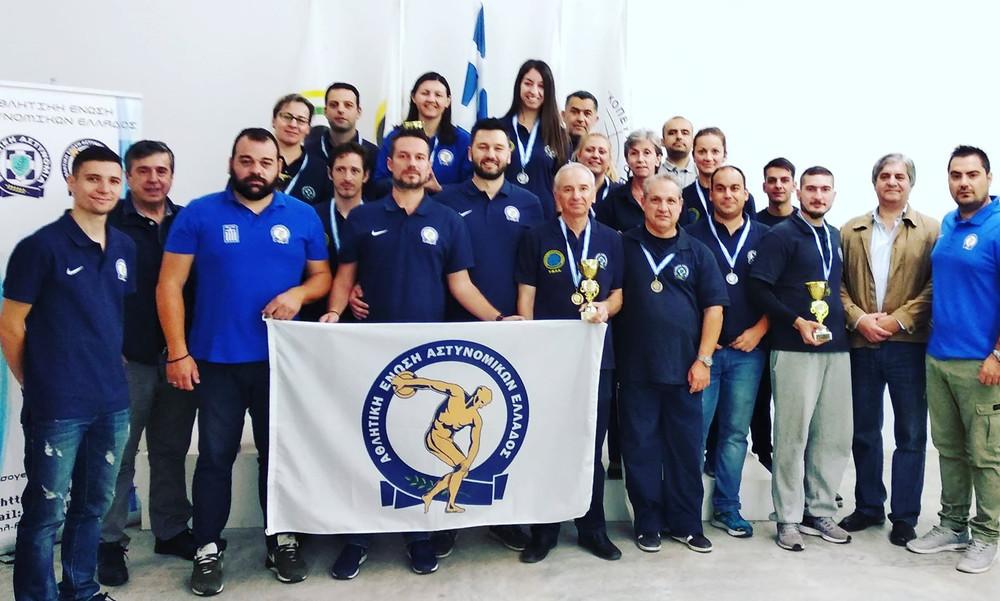 Η Αθλητική Ένωση Αστυνομικών Ελλάδος είναι σε πλήρη δράση!