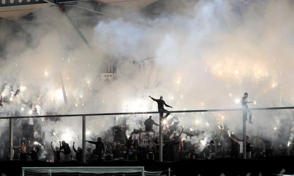Super League: Μοίρασε πρόστιμα για καπνογόνα, πυρσούς η Πειθαρχική