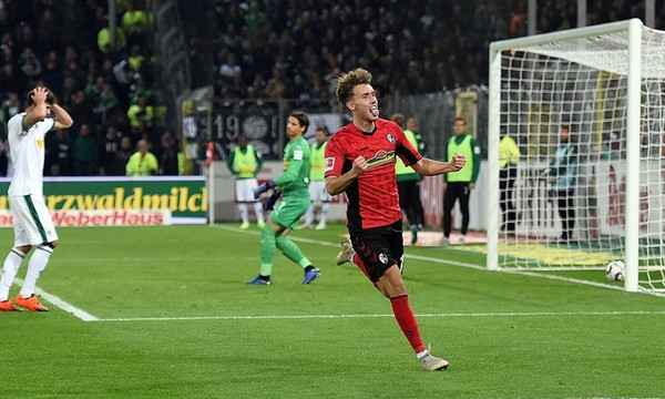 Bundesliga: Η Φράιμπουργκ έκοψε τον αέρα της Γκλάντμπαχ με 3-1