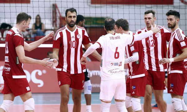 Volleyleague: Ρεκόρ ο Ολυμπιακός, άνετα ο ΠΑΟΚ