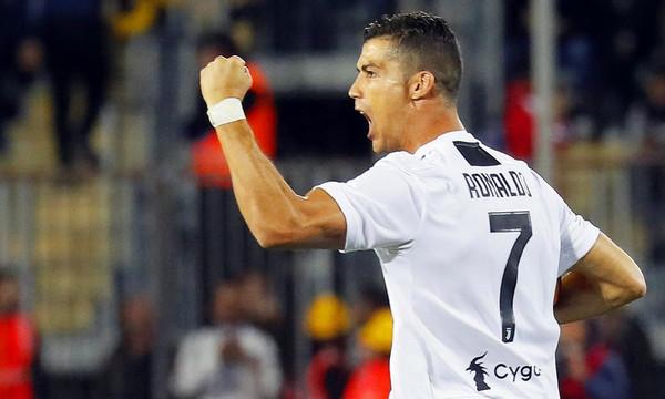 Serie A: «Καθάρισε» ο Κριστιάνο Ρονάλντο για τη Γιουβέντους (video)