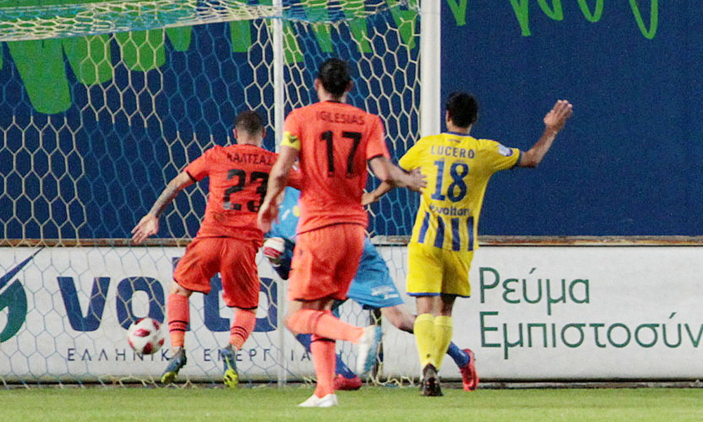 Παναιτωλικός-Αστέρας Τρίπολης 1-1: Το buzzer beater του Καλτσά και η γκολάρα του Μοράρ (videos)