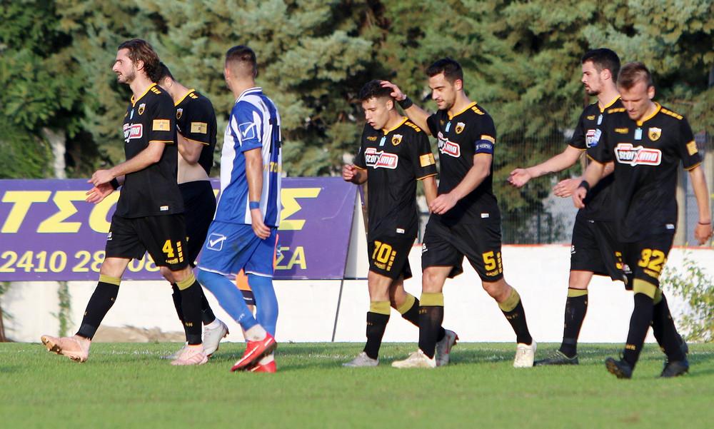 Απόλλων Λάρισας-ΑΕΚ 0-4: Το πάρτι των «μικρών» και τα γκολ του αγώνα (video)