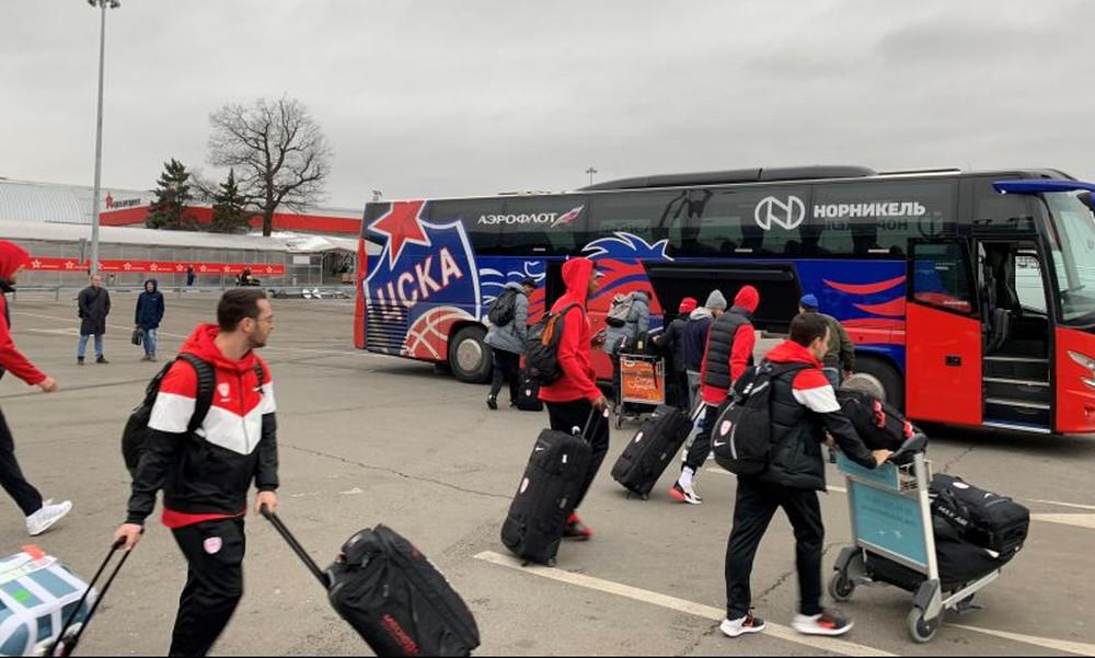 Ολυμπιακός: Στη Μόσχα για το ματς με την ΤΣΣΚΑ (photos)