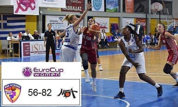 Νίκη Λευκάδας – MBA Μόσχας 56-82: Δεύτερη ήττα στο EuroCup