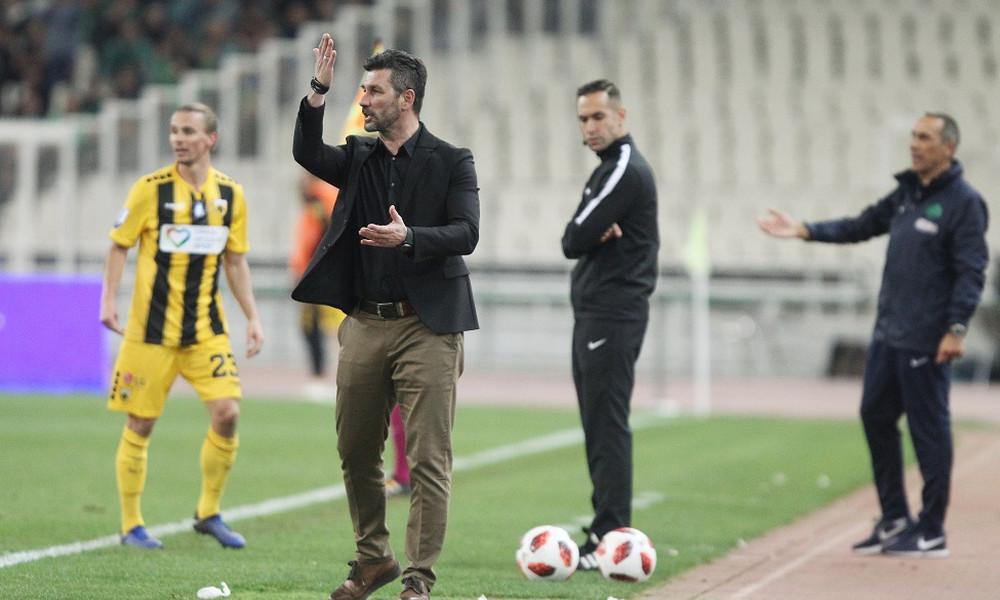 ΑΕΚ: Έξαλλος με τους παίκτες του Ουζουνίδης