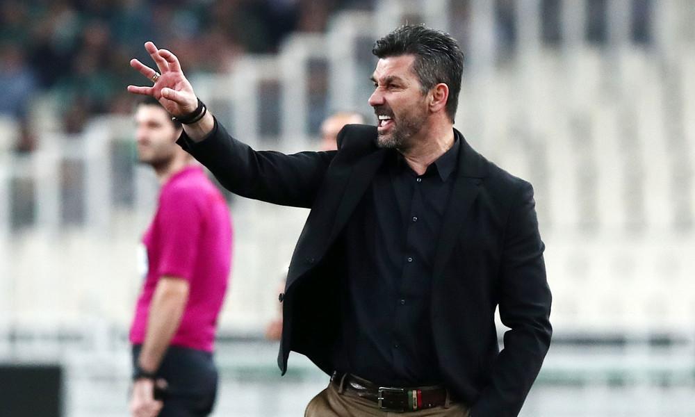 Τα… έχωσε στους παίκτες ο Ουζουνίδης: «Αφήστε τα τσαλίμια, εμείς δεν παίζουμε έτσι»
