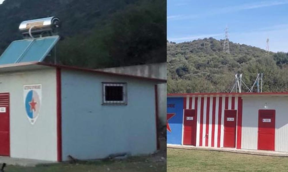 Τρομερά πράγματα: Έκλεψαν ηλιακό θερμοσίφωνα από ελληνικά αποδυτήρια! (photo)