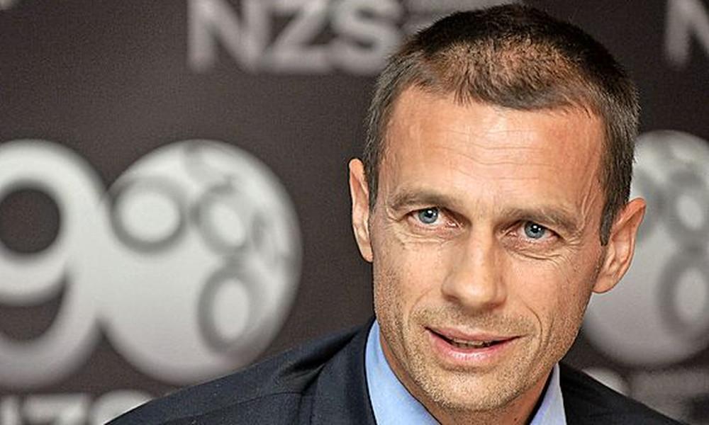 Παίζει μόνος ο Τσέφεριν για την προεδρία της UEFA