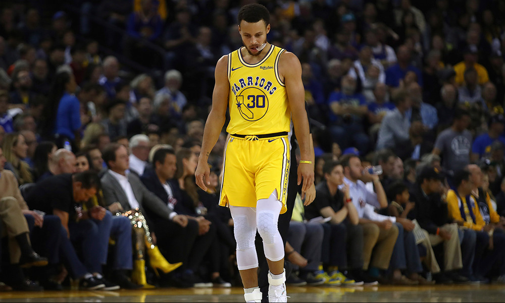 NBA: Θέμα με Κάρι στους Γουόριορς!