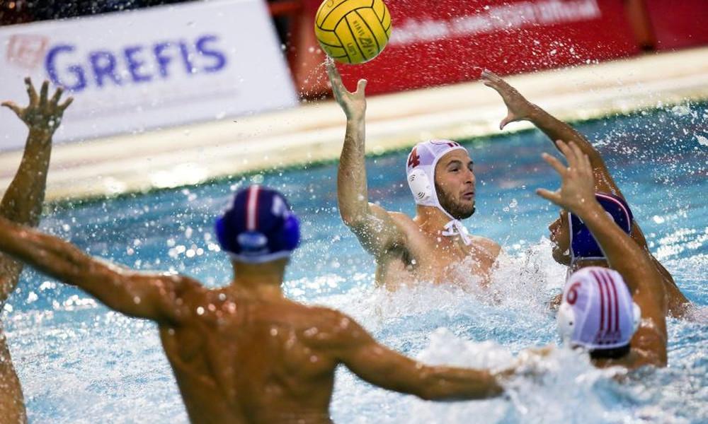 Εύκολη νίκη ο Ολυμπιακός, 13-3 τον Υδραϊκό (photos)
