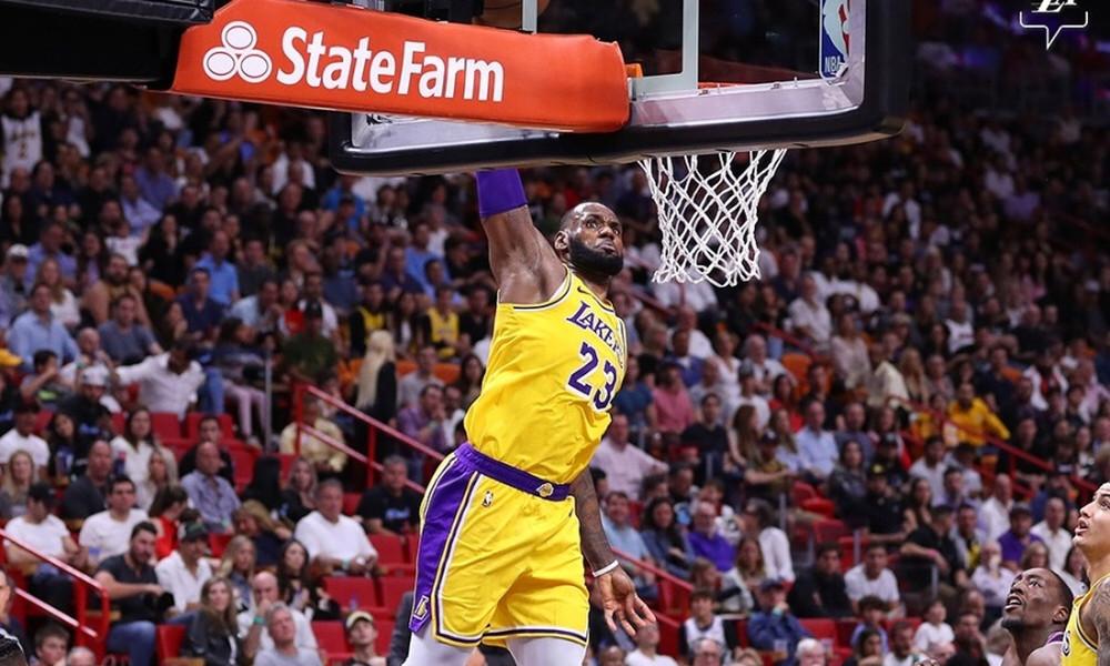 NBA: Μετά την 50άρα και στο Top-10 o Λεμπρόν! (video)