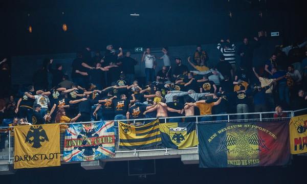 ΑΕΚ: Στα εκτός έδρας έχει... «κιτρινόμαυρο» πάρτι στις εξέδρες (pics)