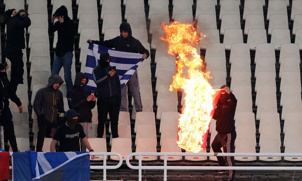Έρευνα από UEFA για όσα έγιναν στο ΟΑΚΑ - Κίνδυνος τιμωρίας για την Εθνική