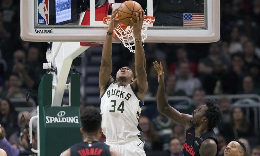 NBA: Μεγάλος Γιάννης, ισοπεδωτικοί Μπακς! (video)