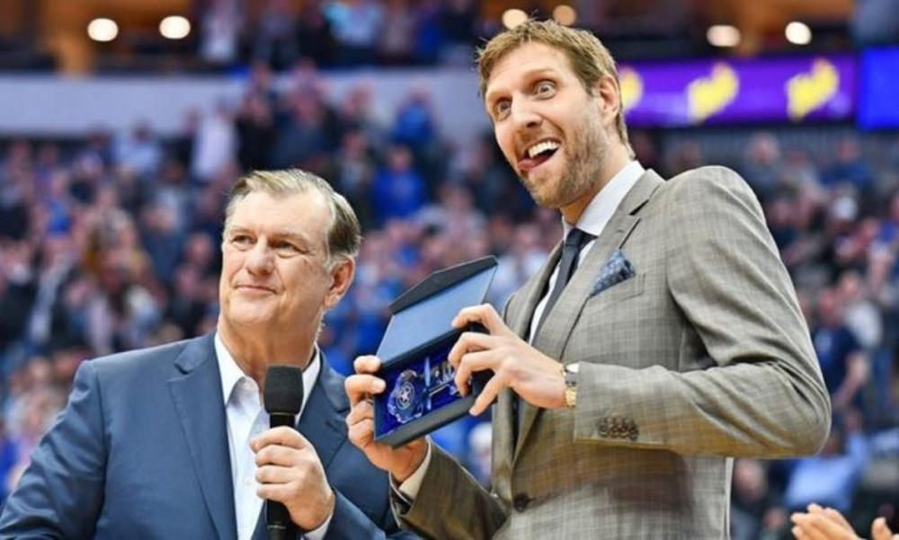 NBA: Μεγάλη τιμή για Νοβίτσκι! (video)